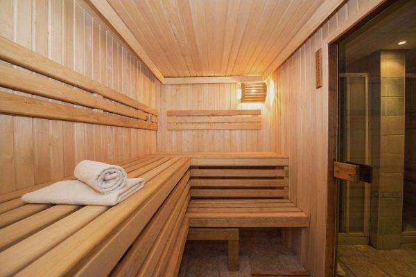 Saturn Palace sauna
